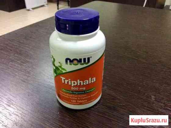 Трифала бад «NOW Triphala» спортивное питание 120 Тюмень