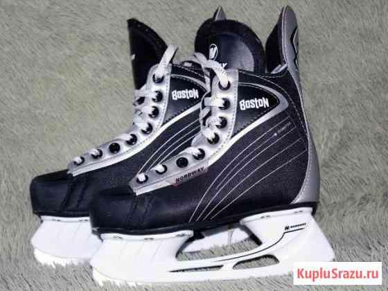 Коньки детские хоккейные размер 34 Котовск
