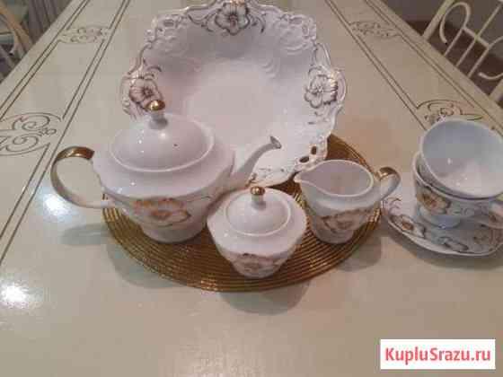 Чайный сервиз и фруктовница Урус-Мартан