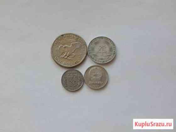 Моя коллекция (доллар, сов.монеты, пфенинг и д.р) Щекино