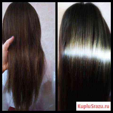 Ботокс для волос и кератиновое выпрямление Тула