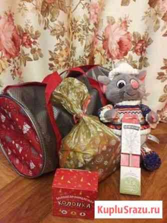 Новогодний подарок сладкий с игрушкой Тюмень