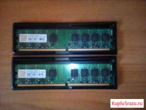 DDR2 Transcend 2x1 Gb Ишим