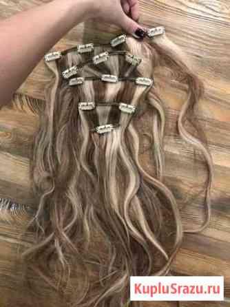 Волосы на заколках Ижевск