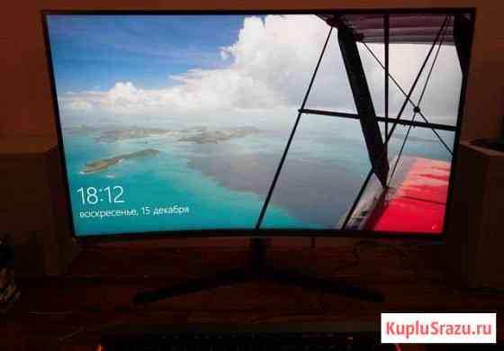 Монитор 2K SAMSUNG 31.5 C32JG50QQI Гарантия 144 Гц Сарапул