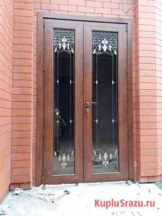 Пластиковые окна двери Гудермес