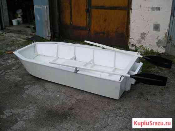 Вёсельно-моторная лодка. Тип картоп Чебоксары