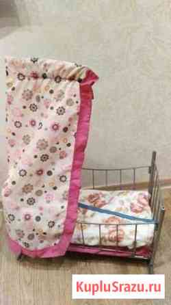 Кроватка для кукол Соликамск