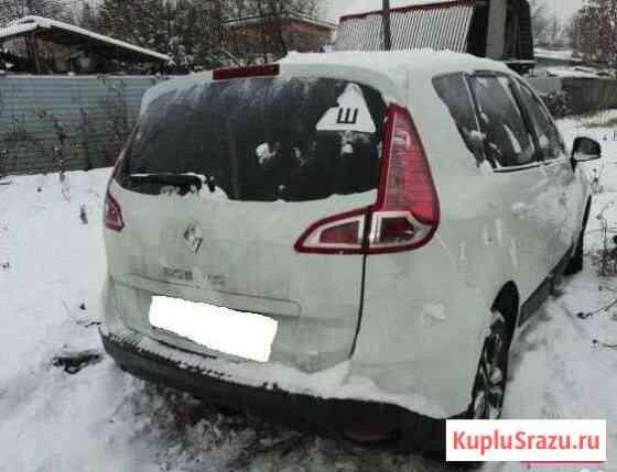 Крышка багажника рено сценик 3 бампер фонари Свердловский