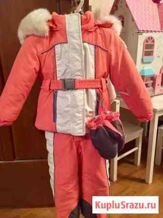 Зимний костюм chicco для девочки Одинцово
