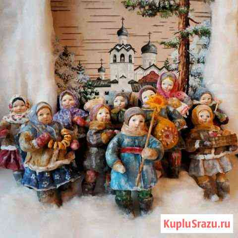 Ватные игрушки на елку Старая Русса