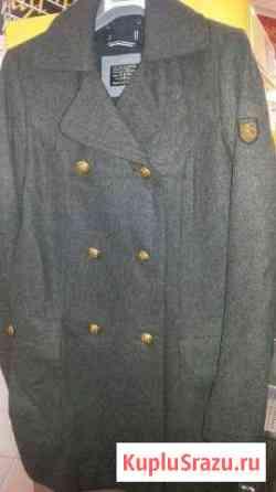 Пальто стиль миллитари Самара