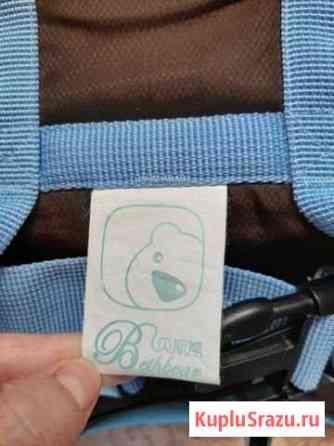 Продам шезлонг и рюкзак кенгуру для ребенка Белоозёрский