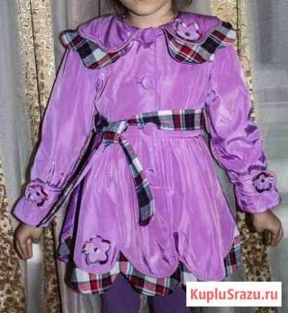 Куртка на девочку на весну. рост 104 Вышний Волочек