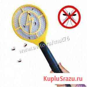 Электро-мухобойка swatter модель RC- 2 цвет желтый Ярославль