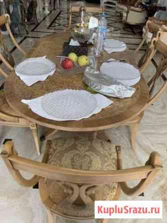 Стол и стулья Francesco Molon Коммунарка