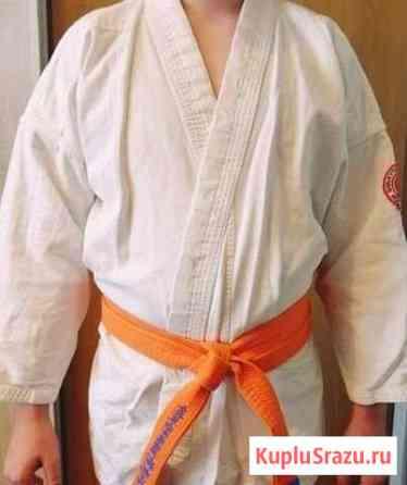 Детское кимоно б/у на рост 140-150см Сертолово