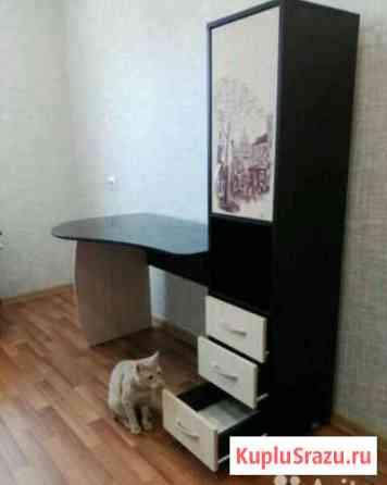 Продам письменный стол с полками для книг Нижнекамск