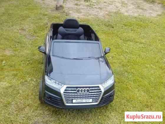Детский электромобиль Audi Q7 Шаховская