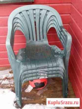 Кресла уличные, 2шт Никель