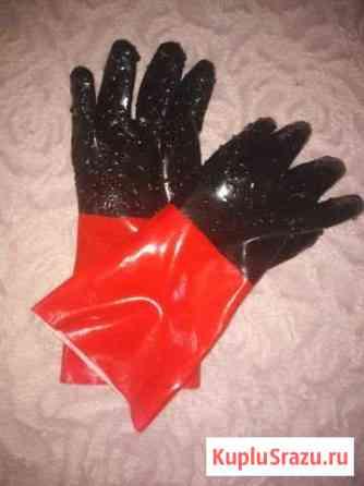 Перчатки с пвх крошкой нескользящие Бийск