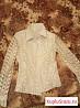 Белые красивые блузки для школы и праздников
