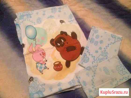 Постельное белье в детскую кроватку Подольск