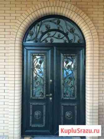 Дверь кованая Д-137 Нальчик
