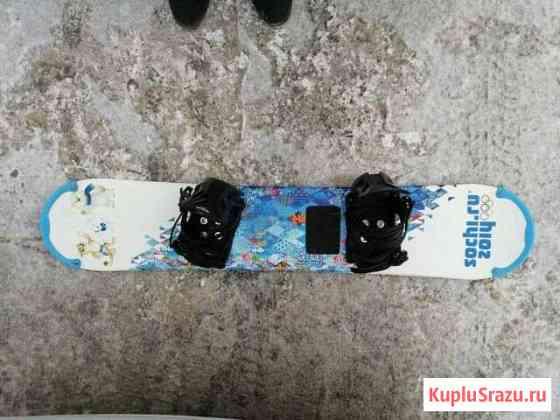 Детский сноуборд и ботинки Тюмень
