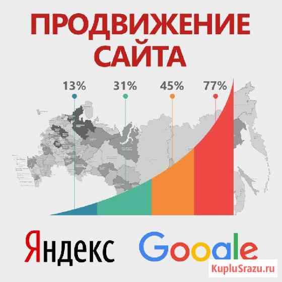 Продвижение сайтов в ТОП Яндекс и Google Ростов-на-Дону