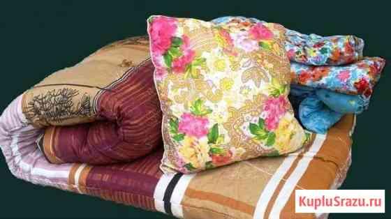 Одеяла, подушки, матрацы эконом Рязань