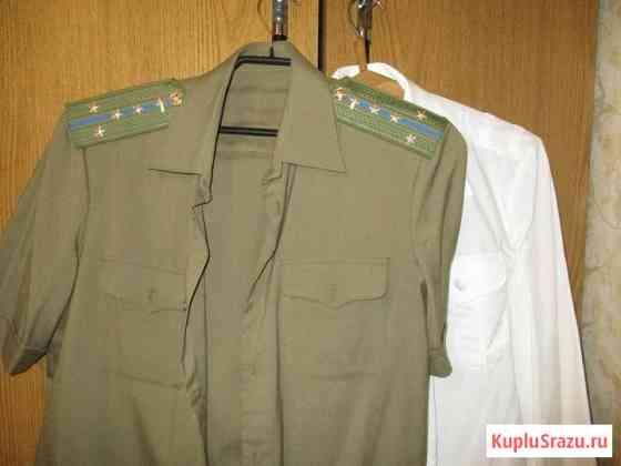 Новые офицерские рубашки ВС СССР Москва