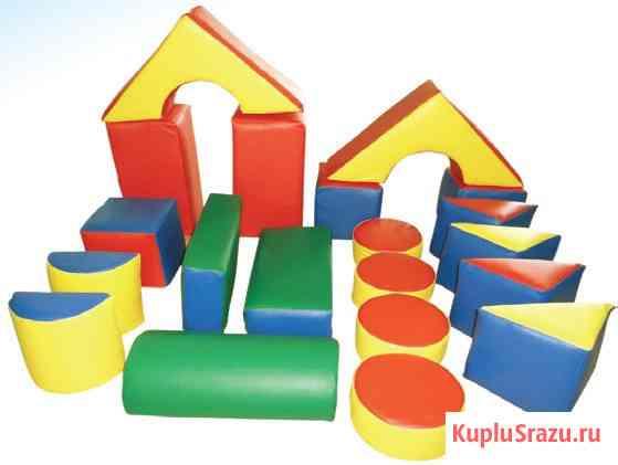 Детские мягкие игровые модули в Краснодаре от производителя Краснодар