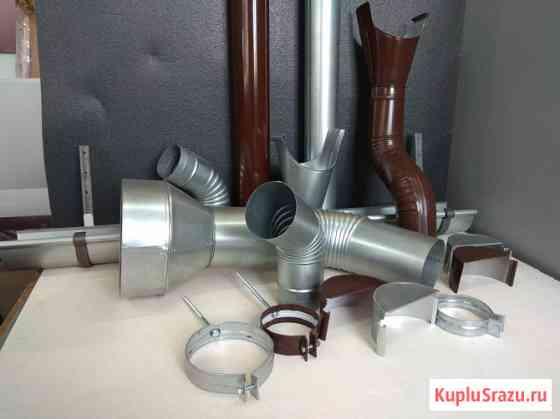 Металлическая водосточная система собственного производства Новосибирск