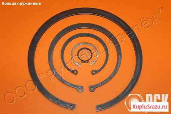 Кольца пружинные по ГОСТ из стали 65Г, 60С2А, нержавейки Таганрог