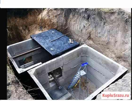 Погреб монолитный, фундамент, смотровая яма Красноярск
