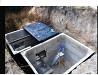 Погреб монолитный, фундамент, смотровая яма