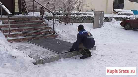 Эффективная система снеготаяния, антиобледенения для пешеходной зоны Москва