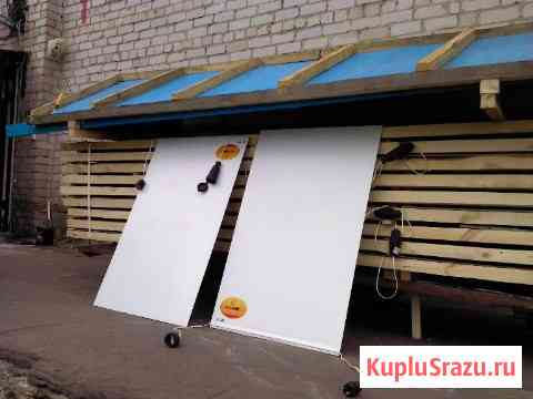 Быстрая сушка древесины инфракрасными кассетами Москва
