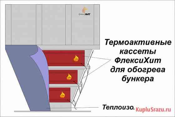 Обогреватель для бункера, силоса предотвратит налипание Москва