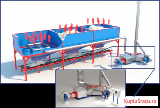 Оборудование для технологий прогрева инертных материалов Уфа