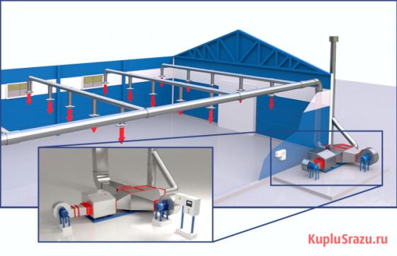 Оборудование для системы воздушного отопления Уфа