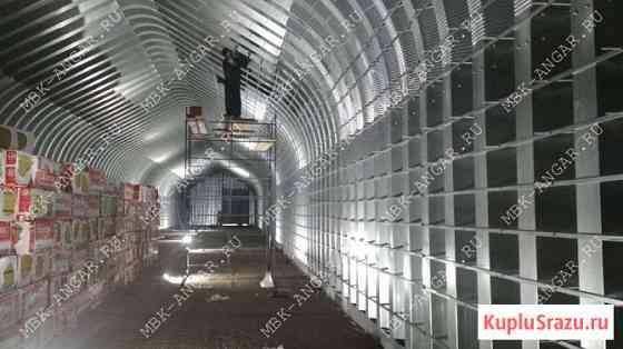 Бескаркасные арочные быстровозводимые разборные ангары под склад Иваново