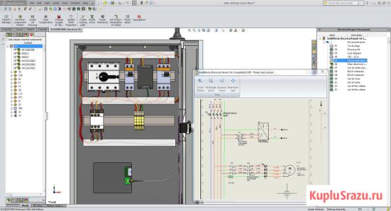 Обучение работе в SolidWorks (Electrical, Simulation), Компас 3D Москва