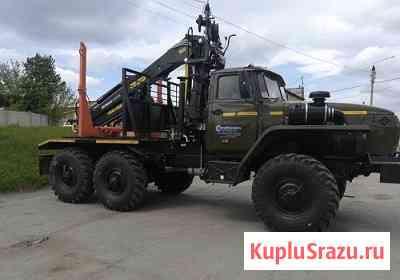 Лесовоз Урал ЯМЗ-236НЕ2, с манипулятором ММ100S Архангельск