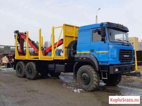 Сортиментовозы Урал бескапотные с манипуляторами от завода Архангельск