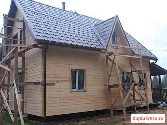 Каркасные и брусовые дома изготовление, строительство Сергиев Посад
