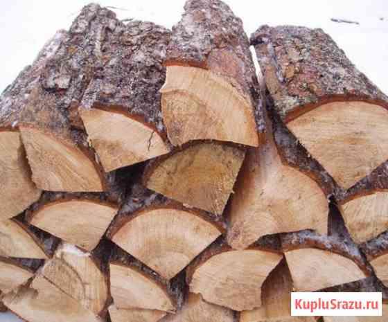 Дрова колотые уложенные, кругляк, берёза, осина, ель, дуб, уголь Сергиев Посад