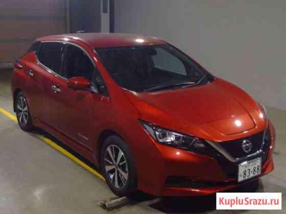 Электромобиль 2 поколение хэтчбек Nissan Leaf кузов ZE1 модификация X гв 2019 Москва