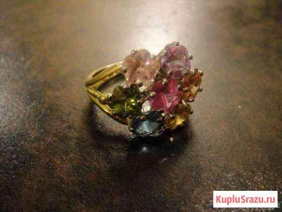 Коктейльное кольцо самоцветы Москва